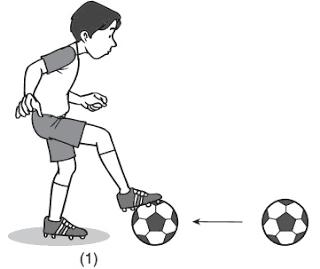teknik dasar menghentikan bola