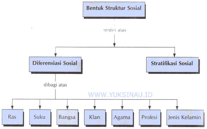 bentuk struktur sosial