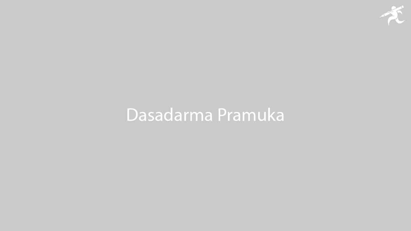 Dasadarma Pramuka