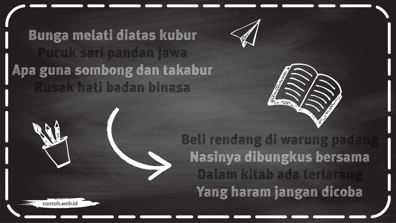 contoh pantun agama