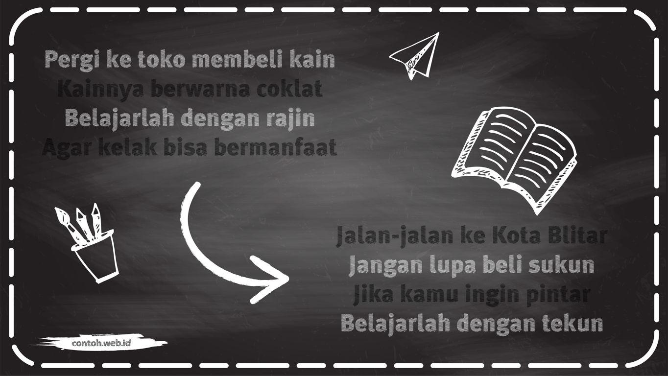 contoh pantun nasihat