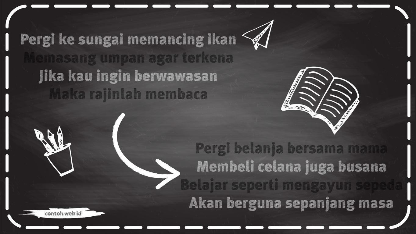 contoh pantun pendidikan