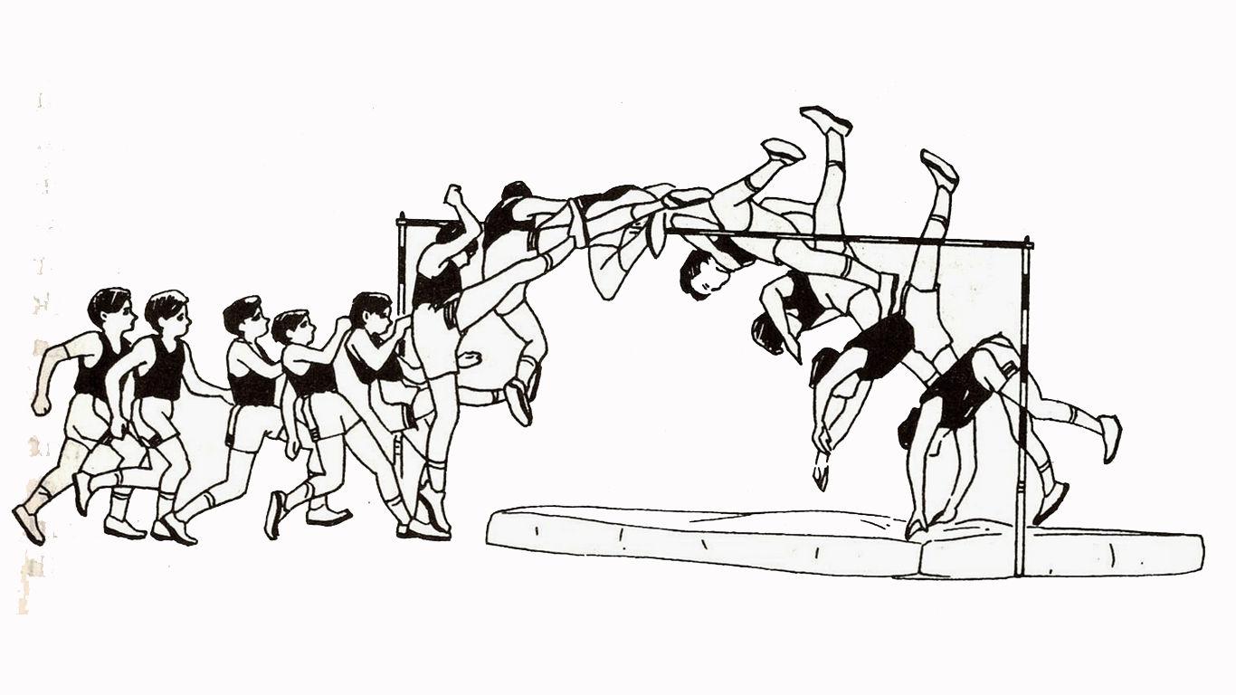 lompat tinggi gaya straddle