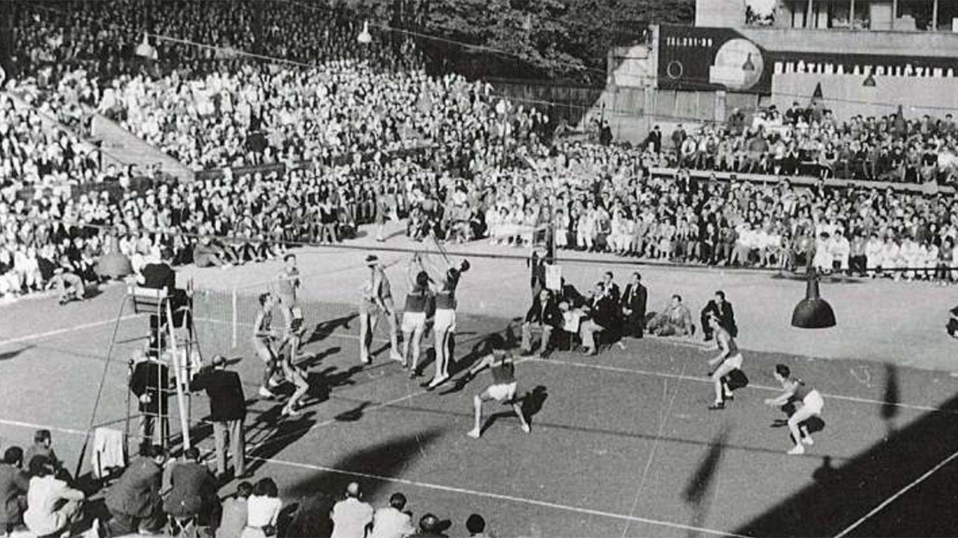 sejarah singkat bola voli