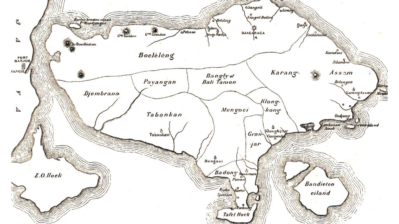 wilayah kekuasaan kerajaan bali