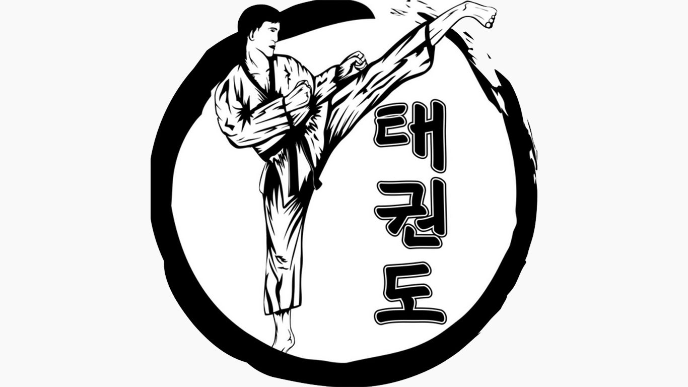 tulisan taekwondo