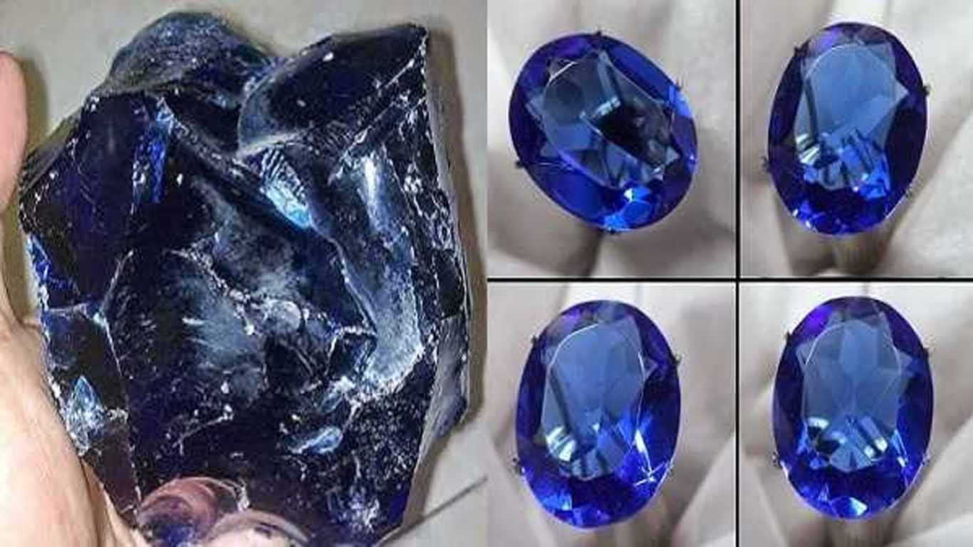 Contoh batu beku batu obsidian