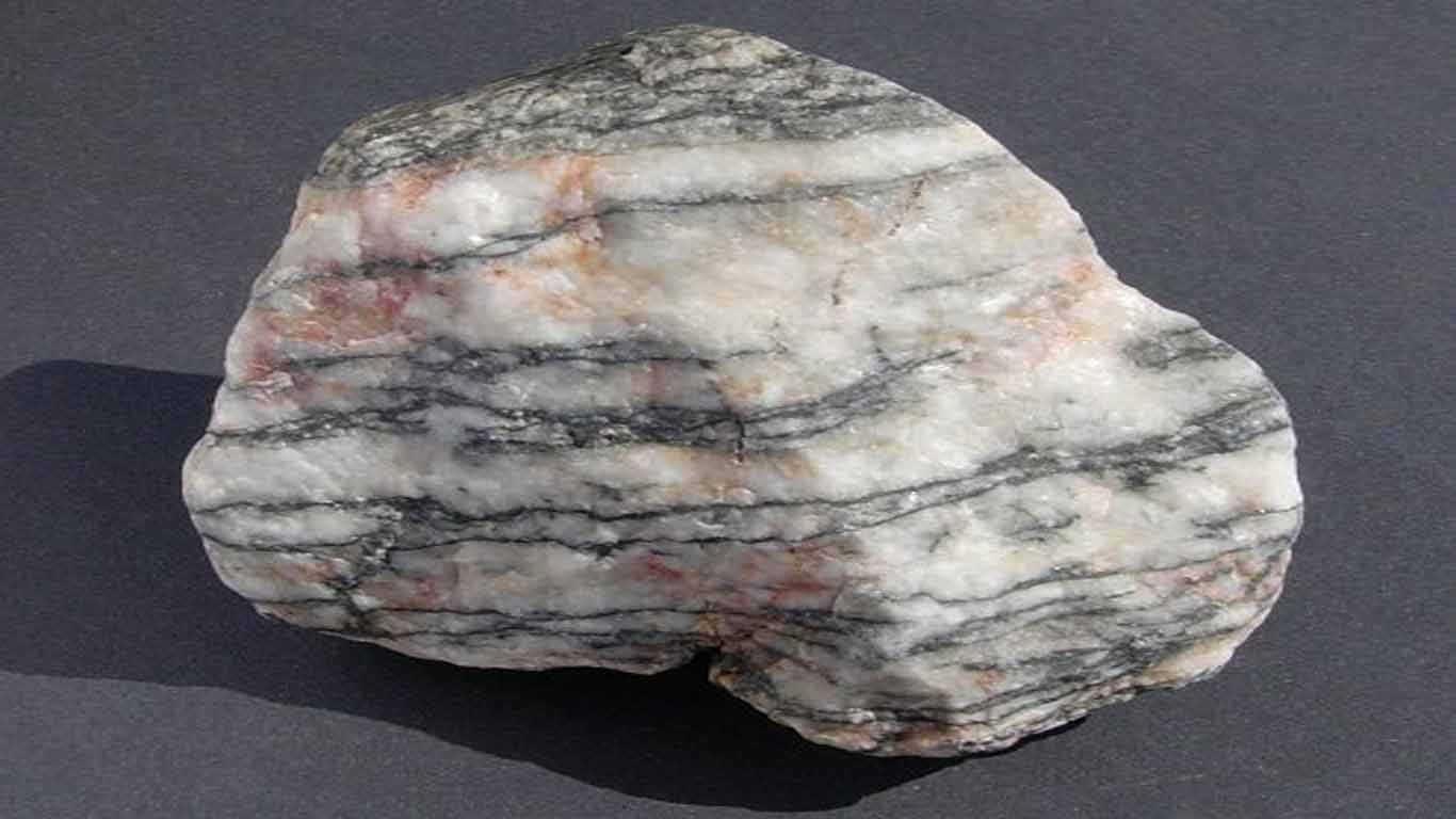 Contoh Batuan Metamorf Gneiss