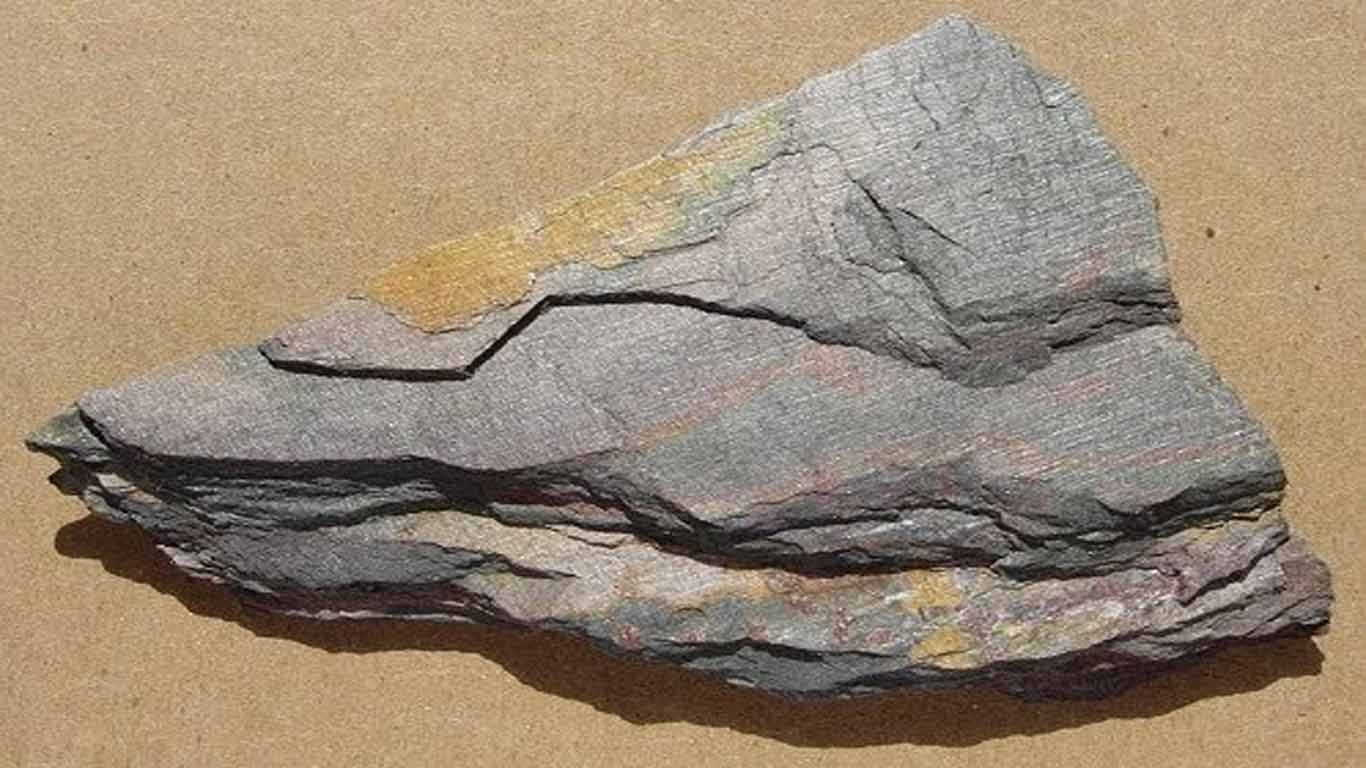 Contoh Batuan Metamorf Slate