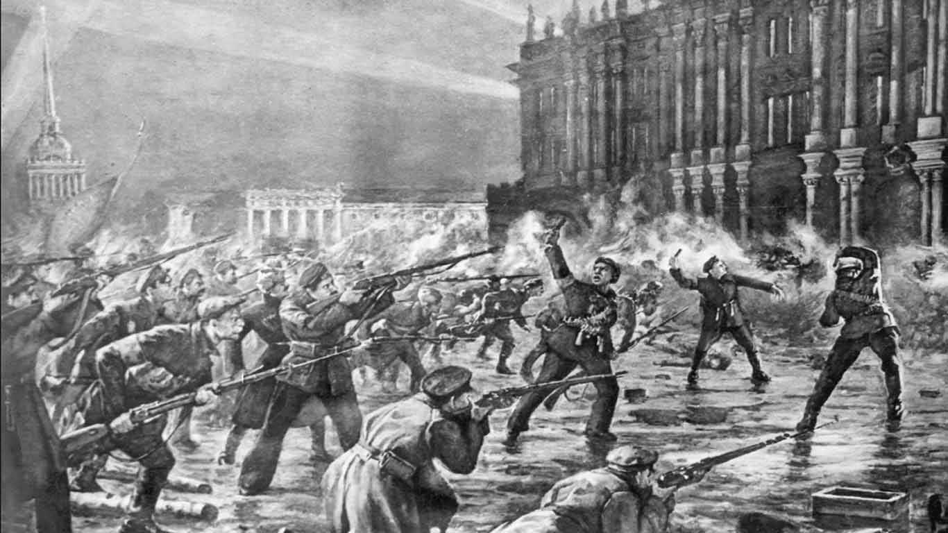 Dampak Revolusi Rusia