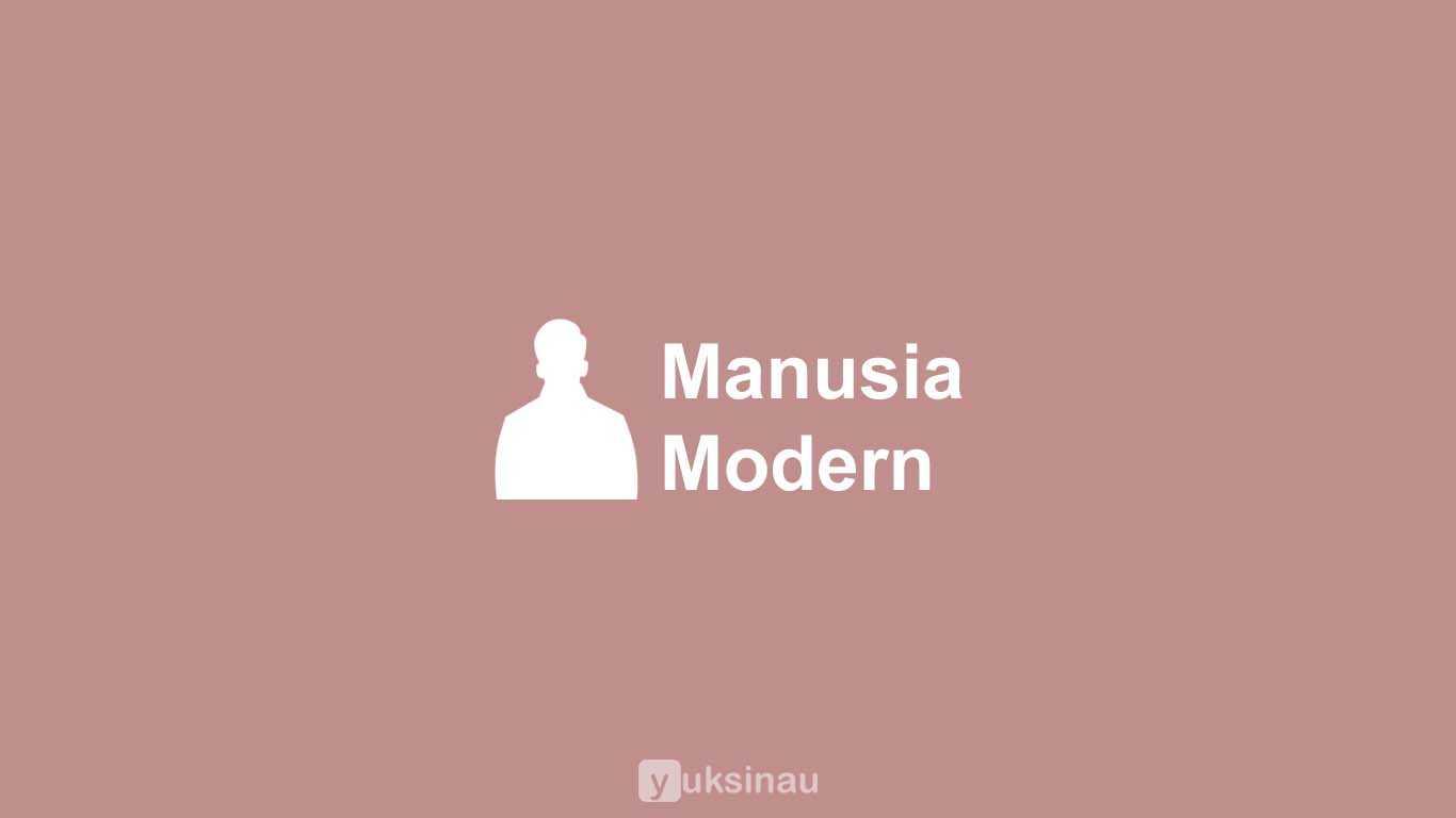 Manusia Modern