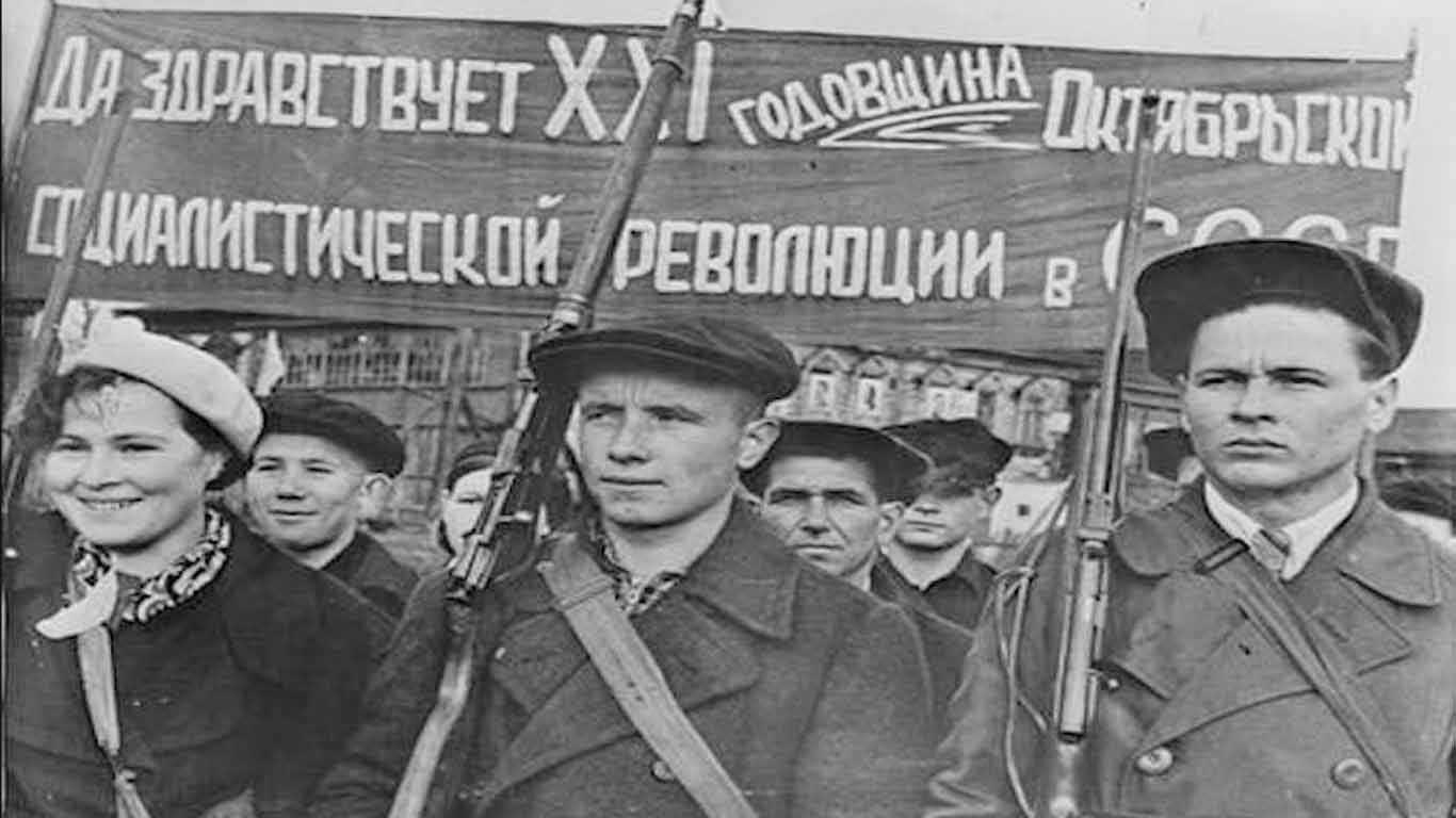 Proses Terjadinya Revolusi Rusia