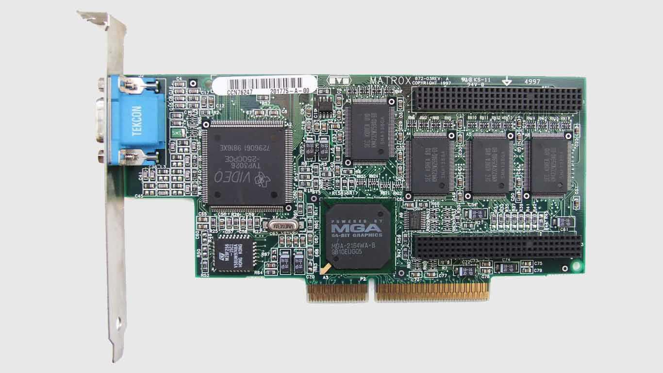 VGA Card (Virtual Graphic Array) (GPU)