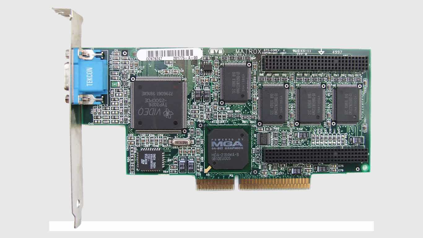 VGA Card (Virtual Graphic Array) (GPU)