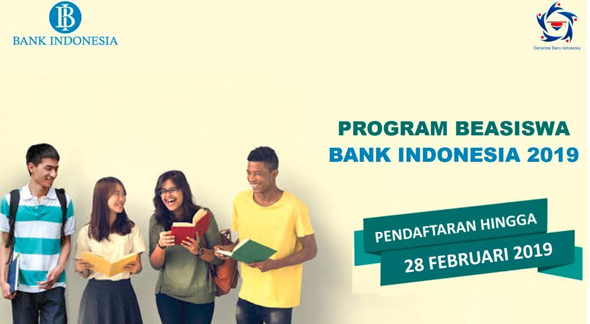 beasiswa bank indonesia 2019