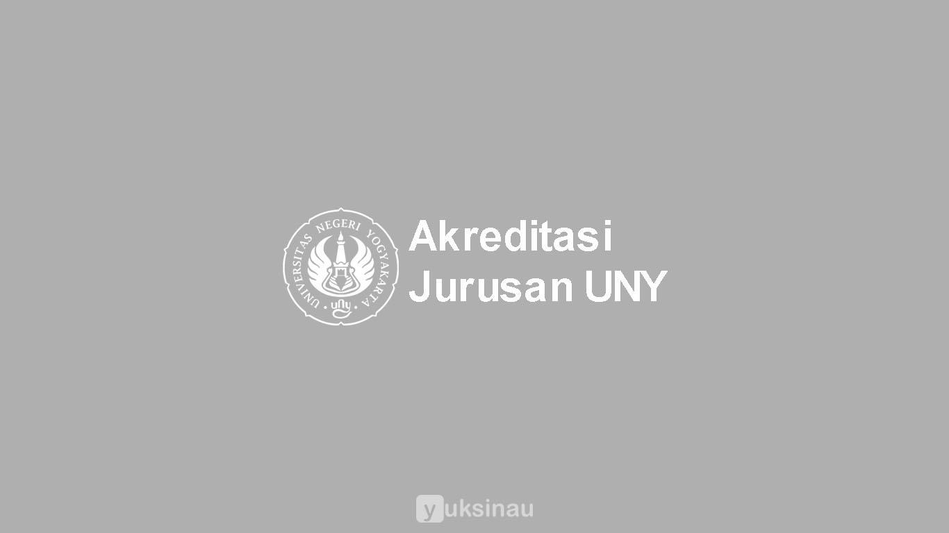 Akreditasi Jurusan UNY