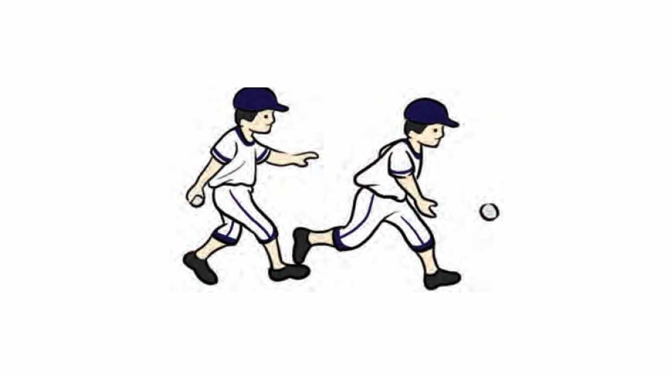Melempar bola dengan ayunan ke bawah