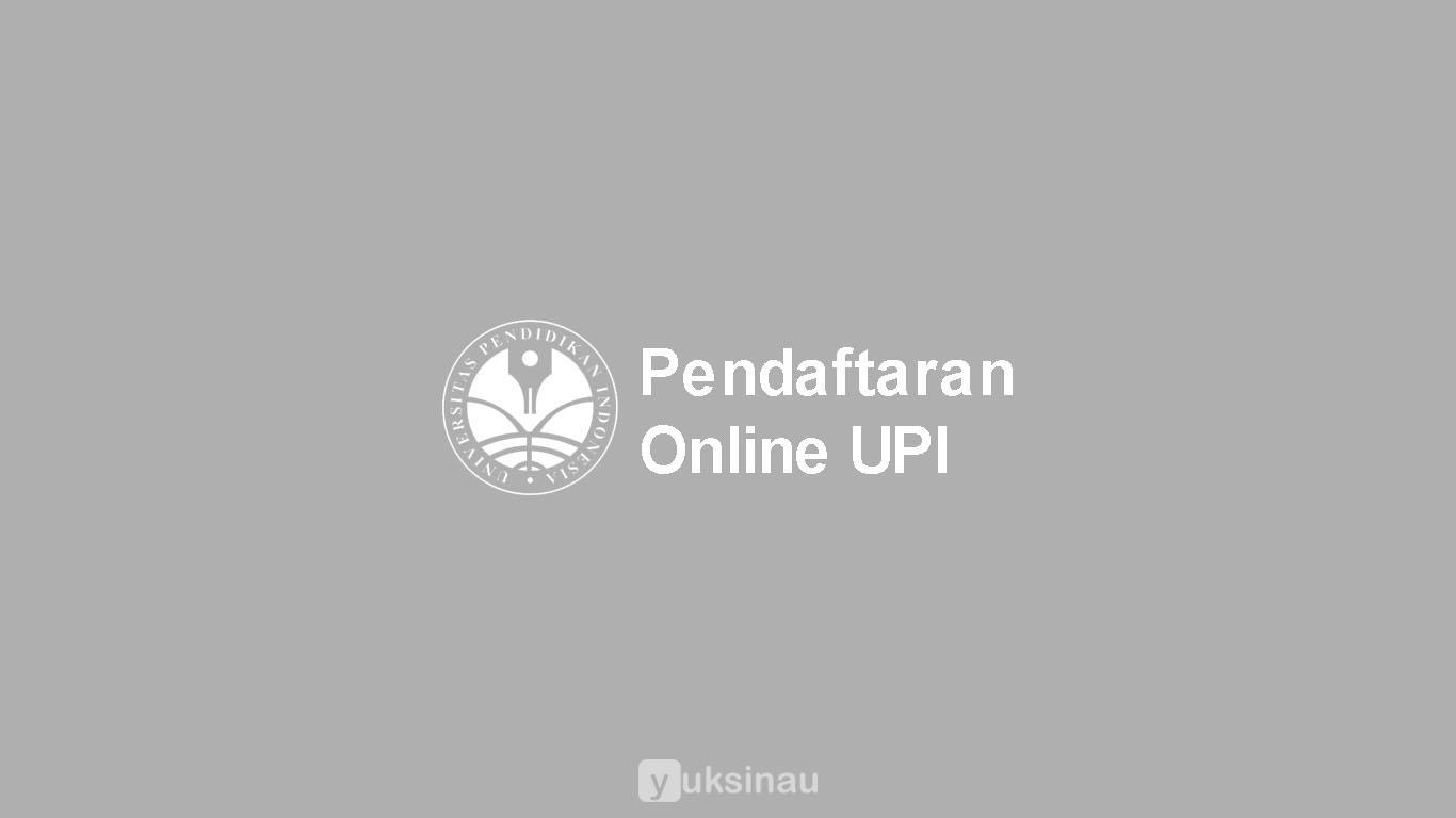 Pendaftaran Online UPI