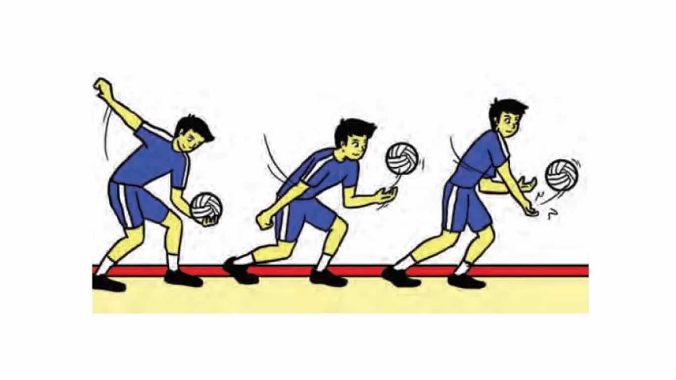 Teknik Permainan Bola Voli