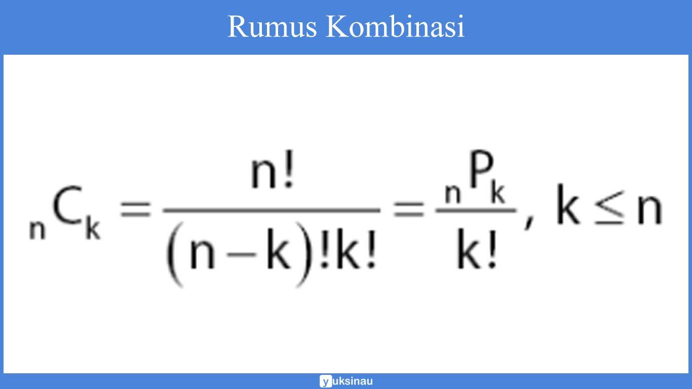 contoh soal permutasi dan kombinasi dan penyelesaiannya pdf