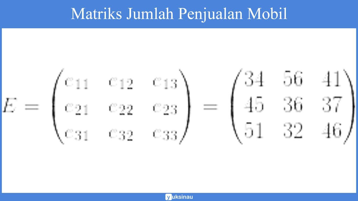 elemen matriks invers