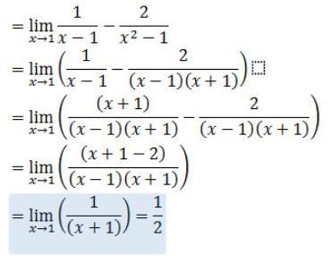 jawaban soal ujian nasional 2013 limit