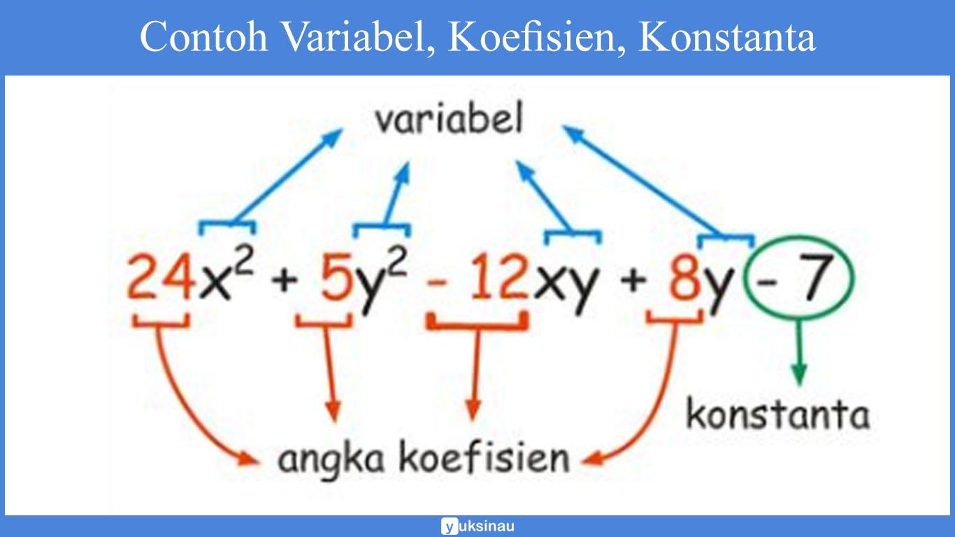 konstanta dalam matematika adalah
