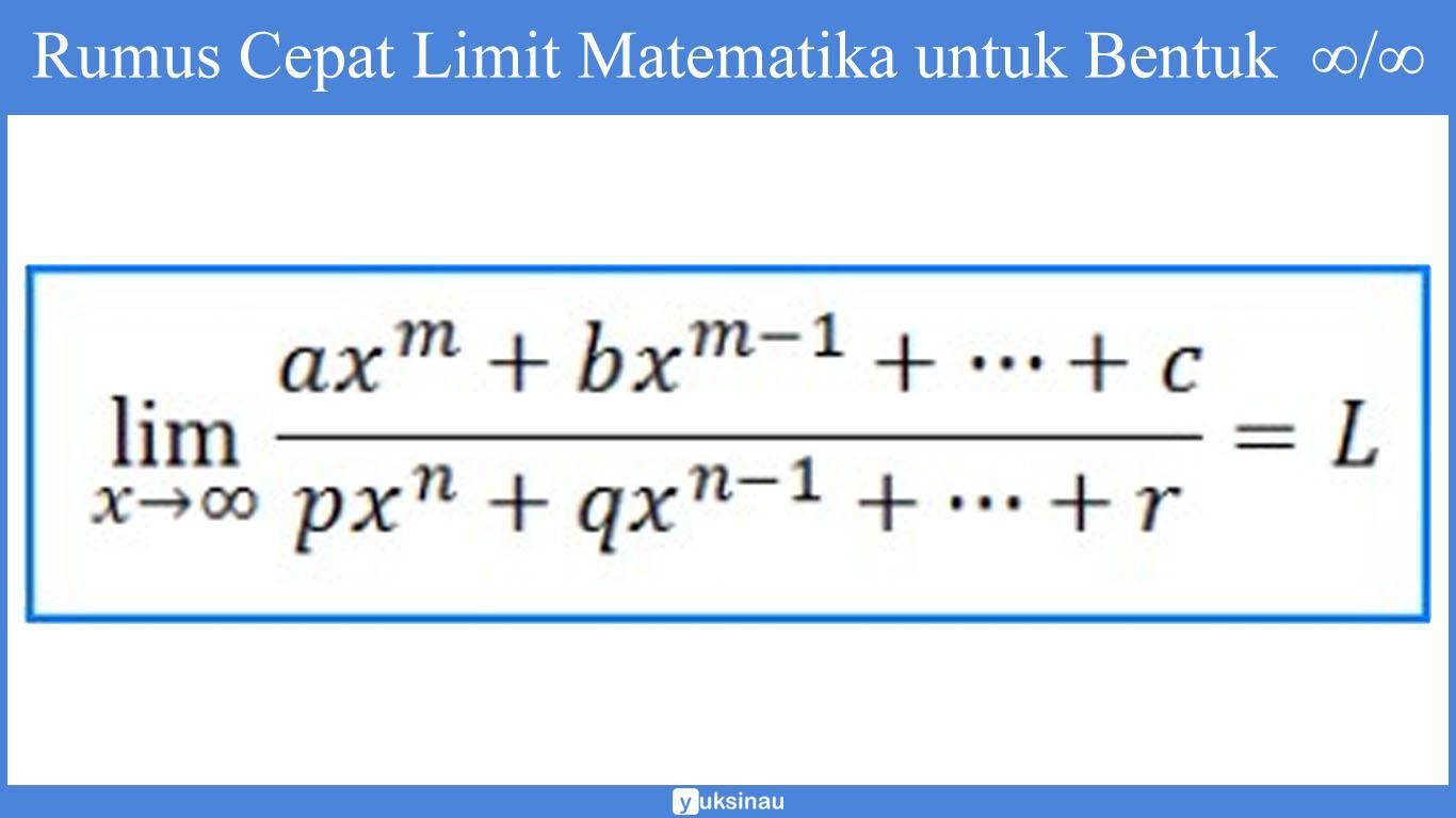 materi limit fungsi