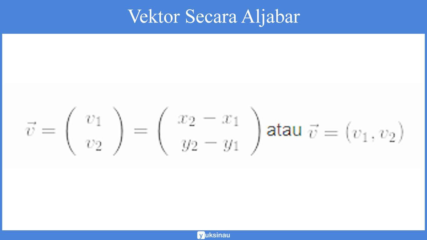 materi vektor matematika kelas 10 pdf