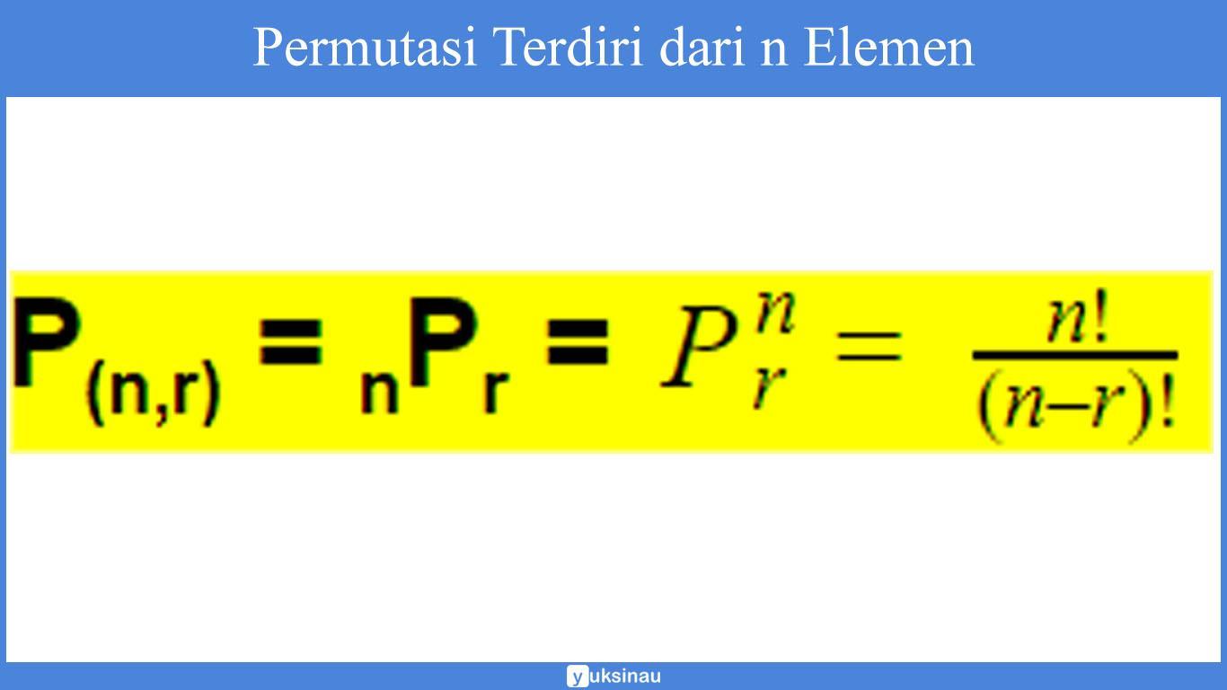 permutasi dan kombinasi pdf