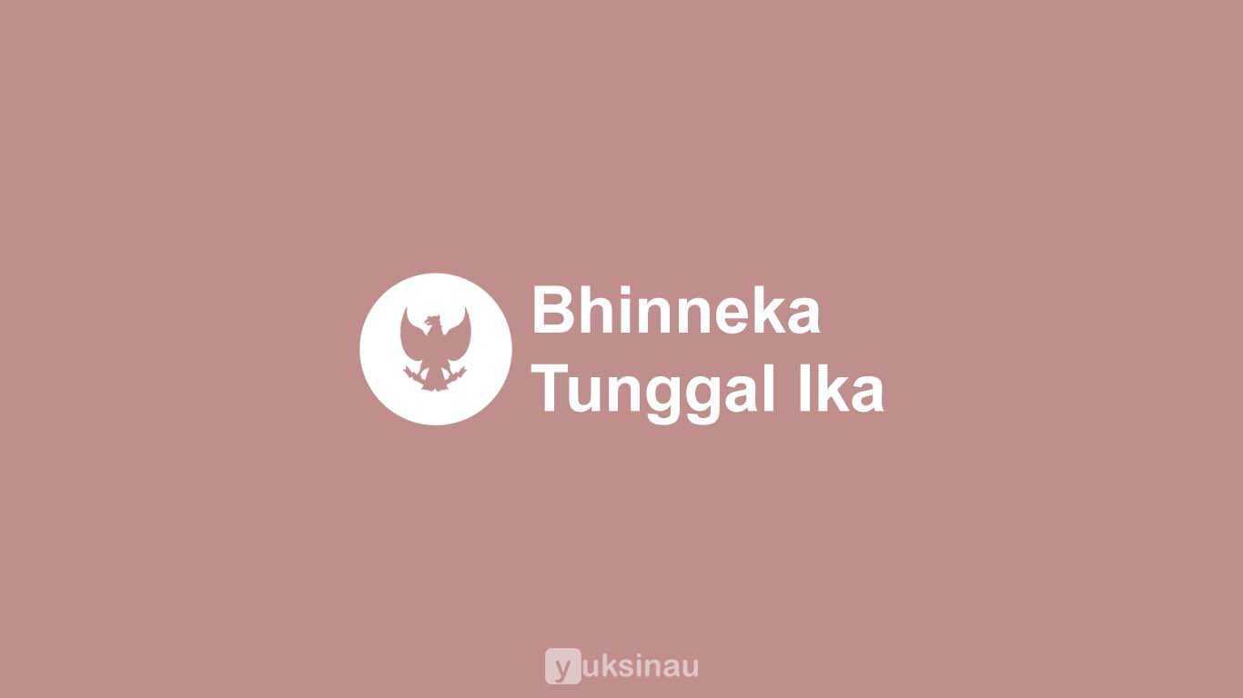 Bhinneka Tunggal Ika