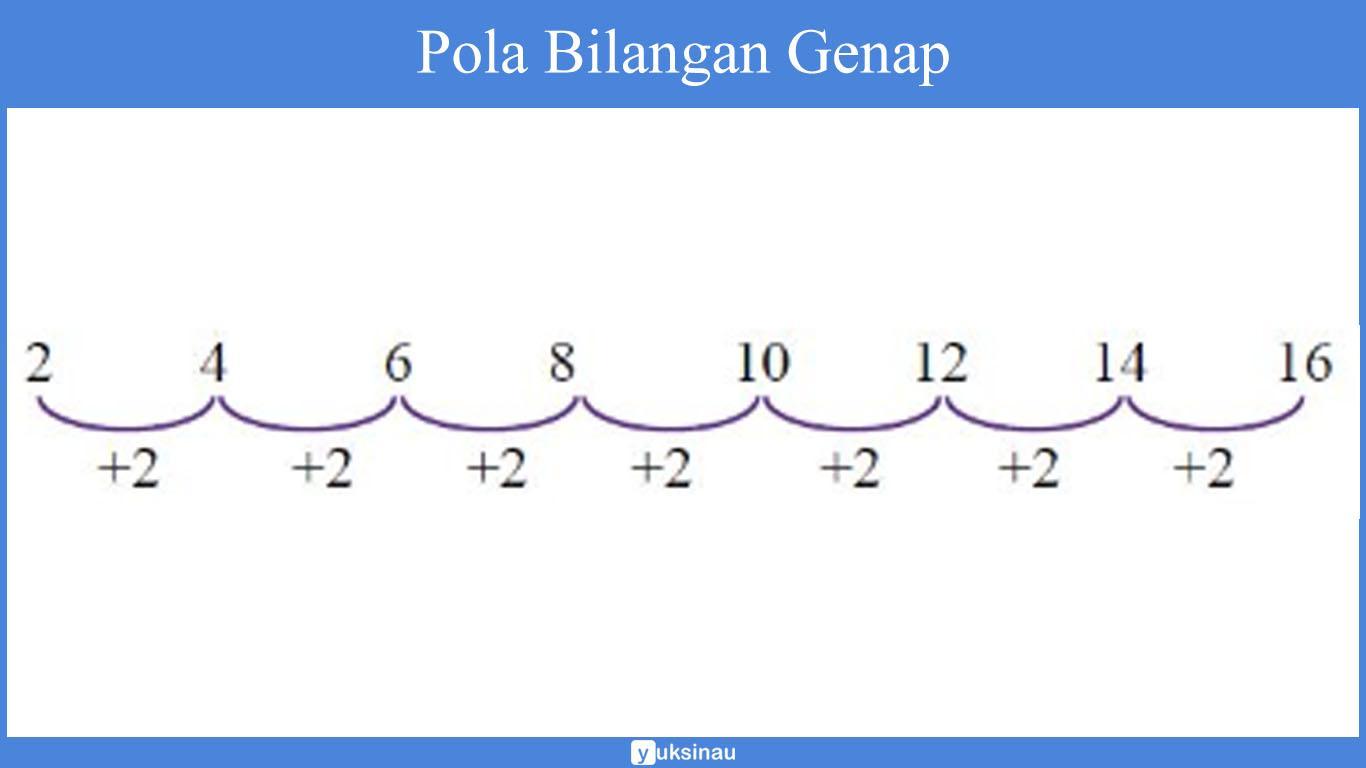 tabel pola bilangan
