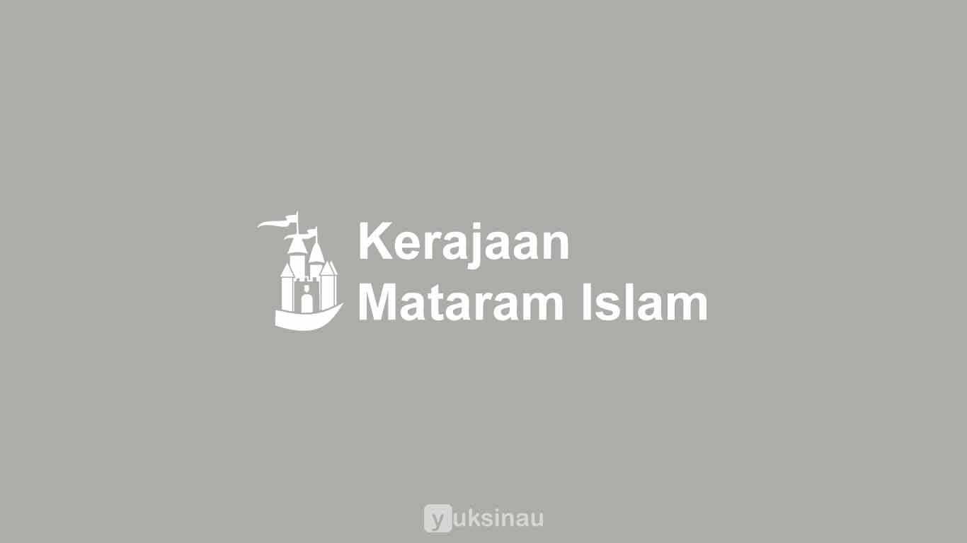 Kerajaan Mataram Islam