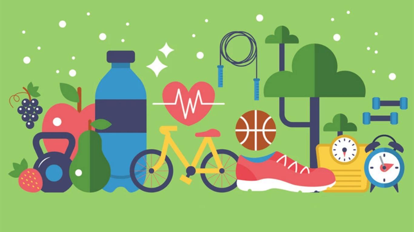 makalah pola hidup sehat
