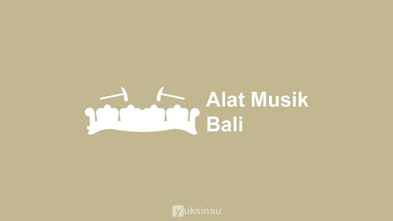 Alat Musik Bali