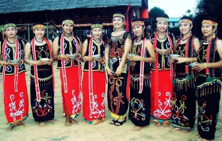 Pakaian Adat Kalimantan Tengah (Upak Nyamu)