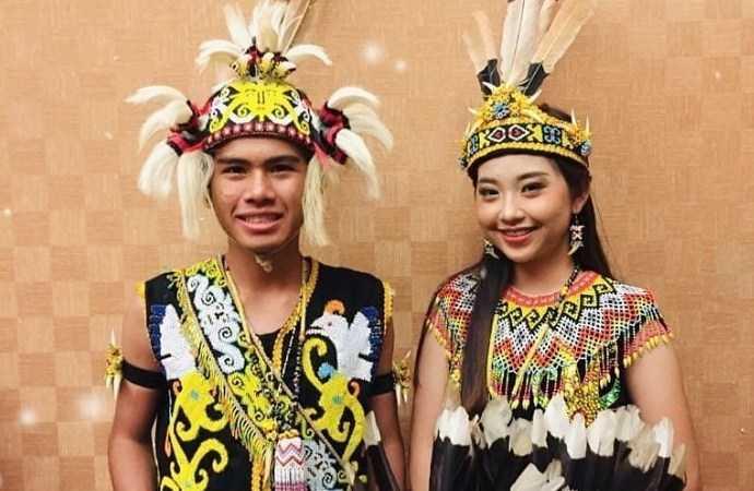 Pakaian Adat Kalimantan Utara (Ta'a dan Sapei Sapaq)