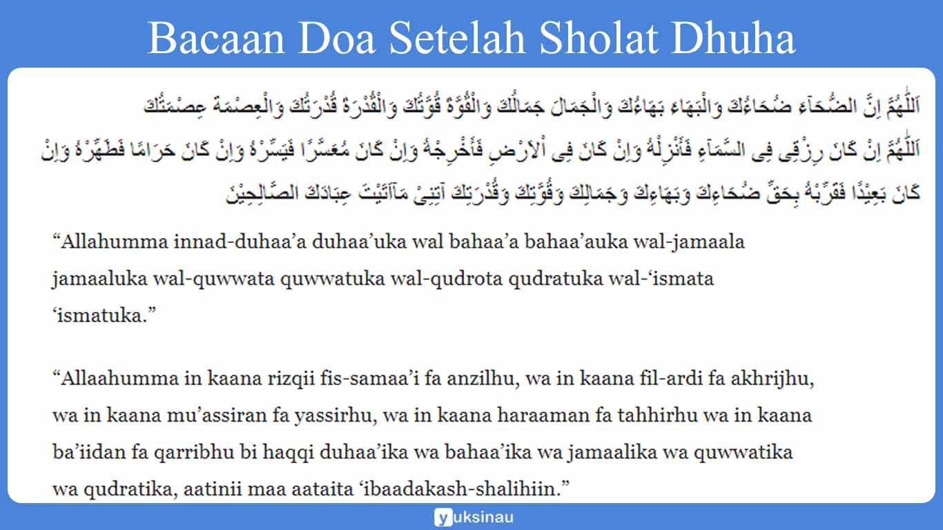 bacaan doa