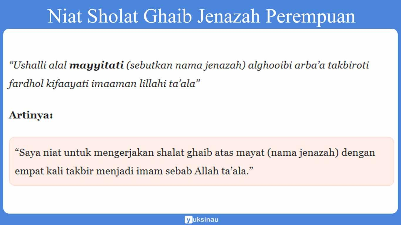 imam ghaib perempuan