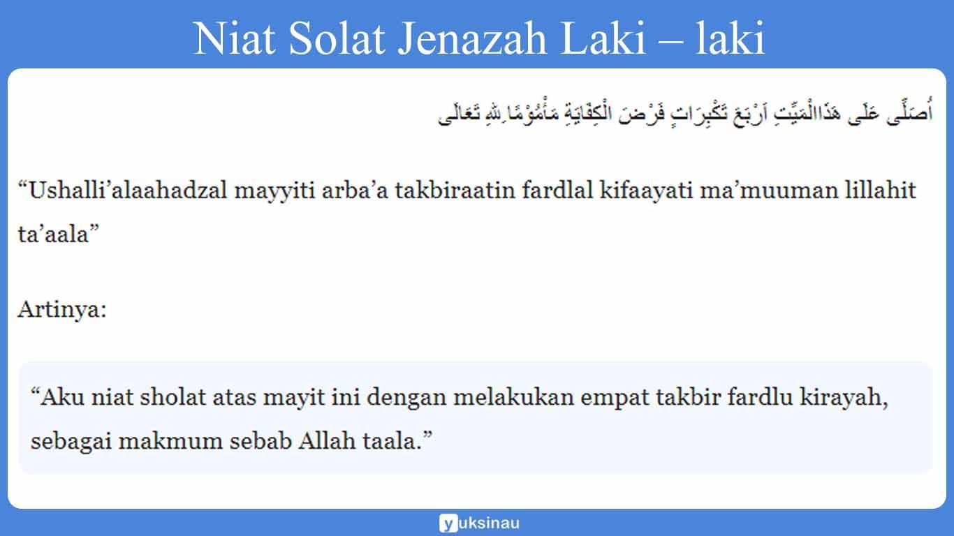 Sholat Jenazah: Posisi, Tata Cara, Bacaan Doa, Sholat Ghaib