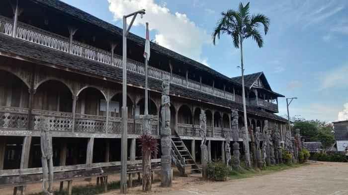 Ciri Khas Rumah Adat Kalimantan Timur