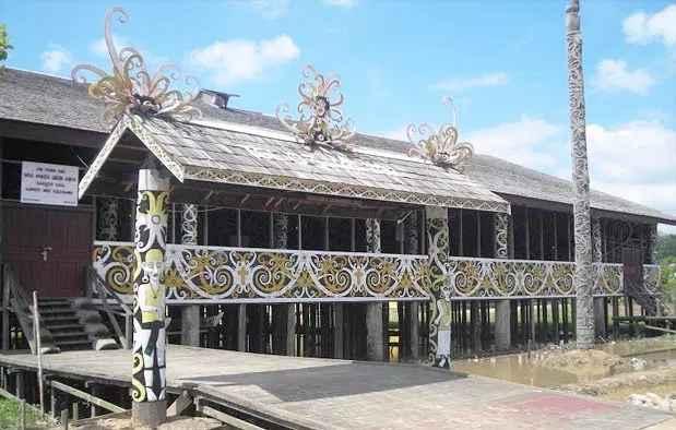 Filosofi Rumah Adat Kalimantan Timur