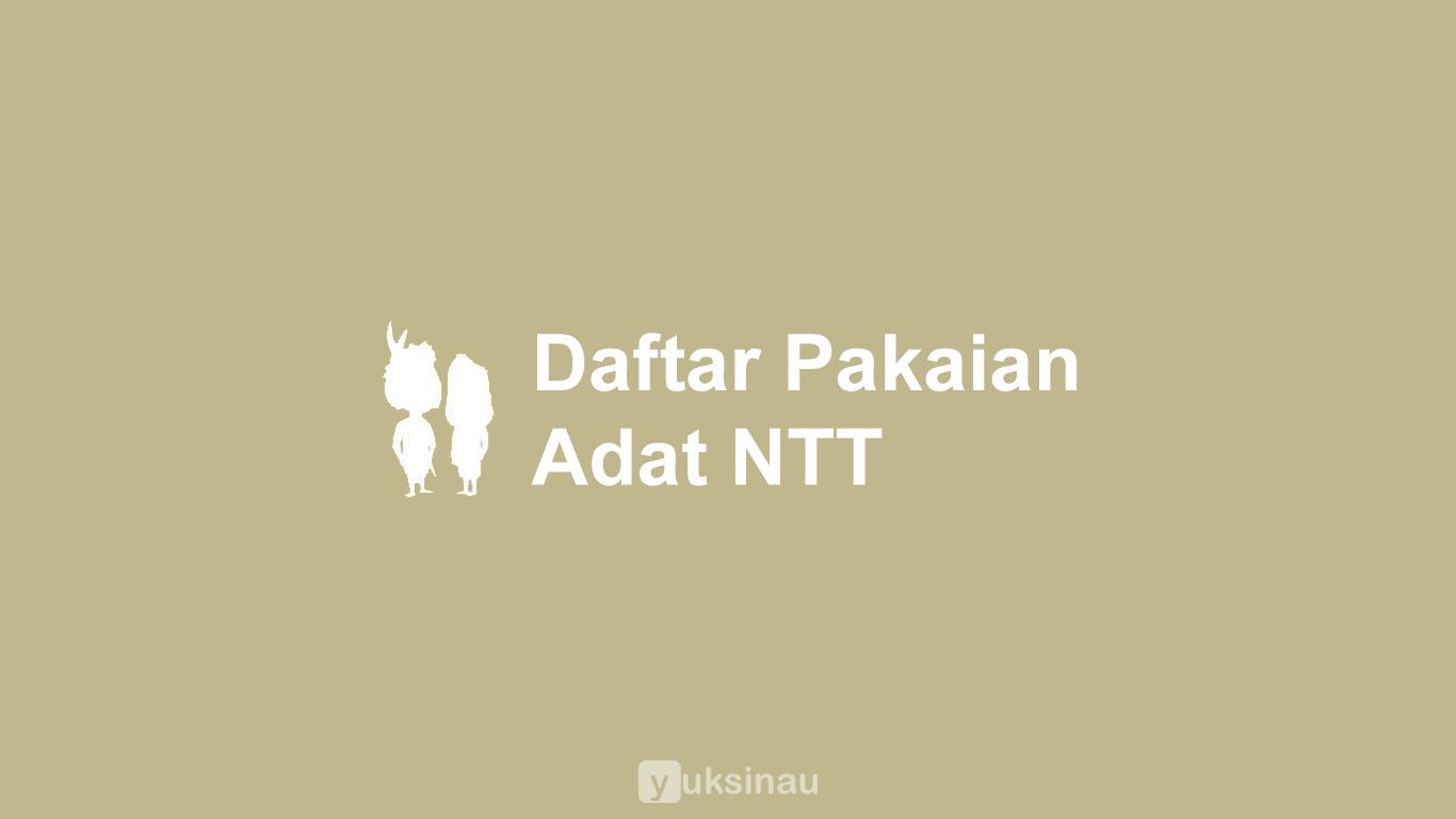 Pakaian Adat NTT