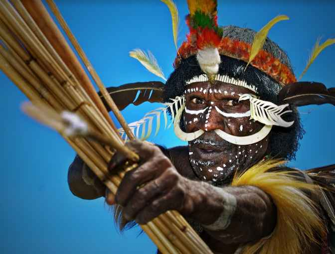 Senjata Khas Masyarakat Papua