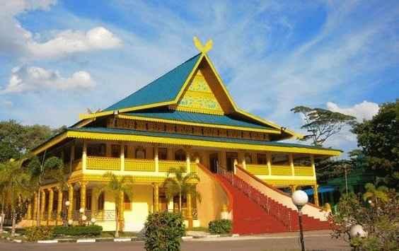Struktur Rumah Adat Riau