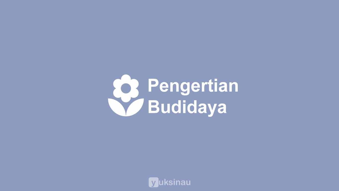 Pengertian Budidaya