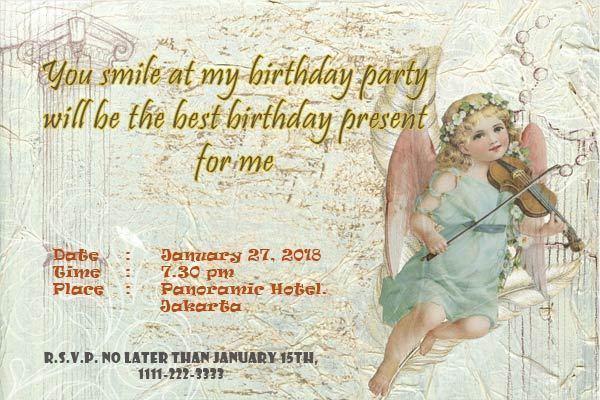 Undangan Acara Ulang Tahun