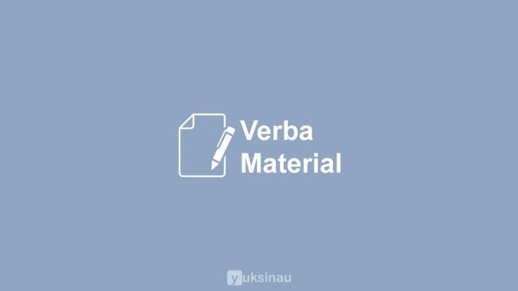 Verba Material