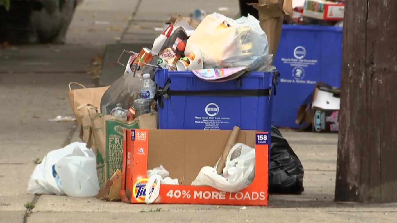 contoh teks laporan hasil observasi tentang sampah