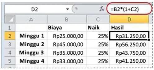 cara menghitung persen di kalkulator hp